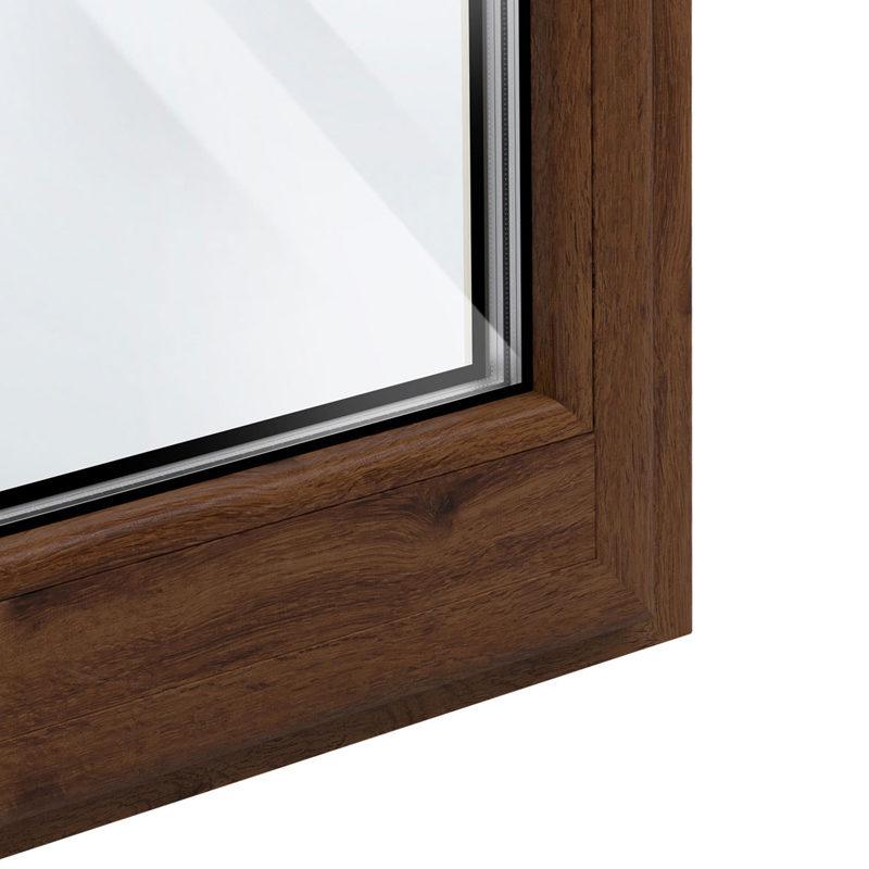 particolare angolo in legno